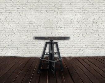 Custom Steel Base Round Table