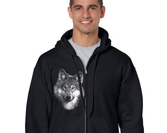 Sweatshirt - mixed - Wolf