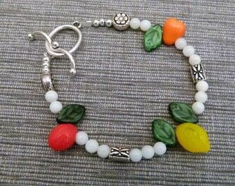 Fruit Trio Bracelet, B0504