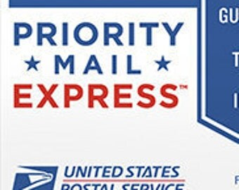 Priority Mail Express Upgrade (1-2 day delivery)