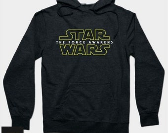 Christmas Present Star Wars The Force Awakens Hoodie 2015 Lightweight Classic Best Price Top Quality Made To Order