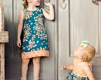 Baby Taylors Shift & gathered and Dress and top . PDF sewing patterns for Baby sizes NB-24 months