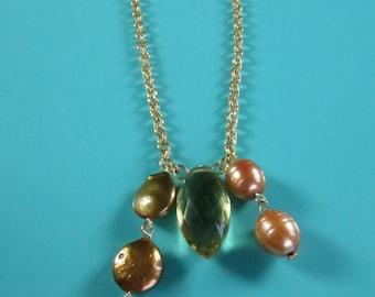 Warm Golden Glow Necklace