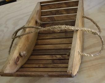 Wooden Garden Trug (Harvest Basket)