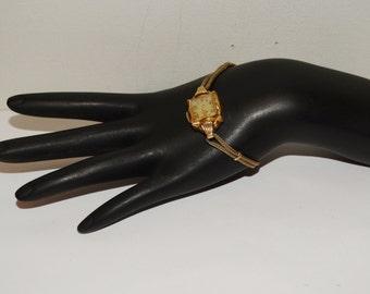 Vintage Elgin Gold Filled Ladies Wrist Watch.