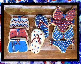 Patriotic Summer Sugar Cookies