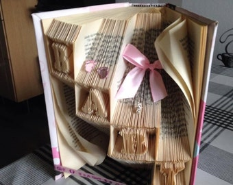 "Book folding pattern ""Babybricks"""