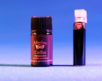 Coffee essential oil,  Venezuela, Coffea arabica 3-5-10 ml