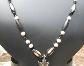 native arrow tip necklace