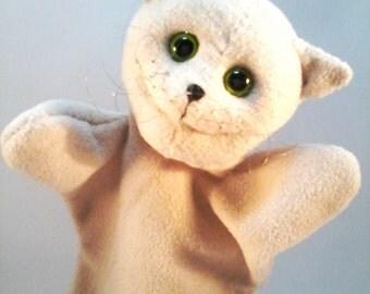 Kitty, a cute glove puppet