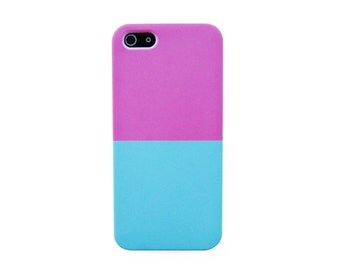 Pastel Pink and Blue stripe iPhone 7 case Pink Pastel iPhone 6S+ case Pastel Stripe iPhone 6S case Colorful pastel iPhone 5S case