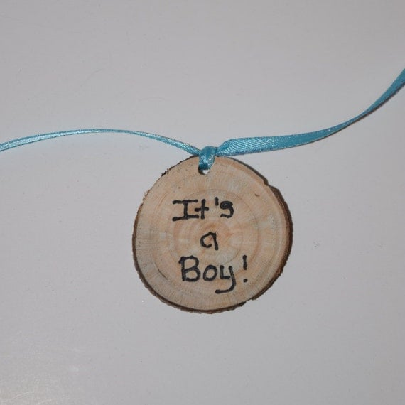 Baby Boy Gift Tags : It s a boy tags baby gift