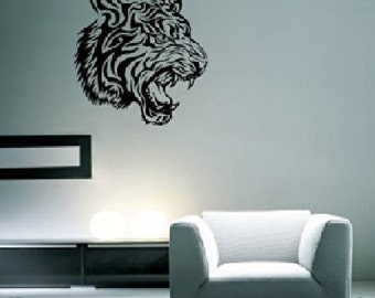 Tiger Tribal Design Wall Decal
