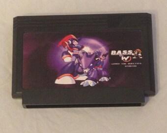 Bass Custom Famicom 8bit Game. Mega Man