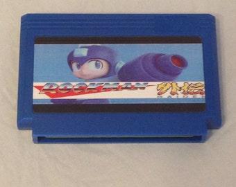Rockman Gaiden Custom Famicom 8bit Game. Mega Man