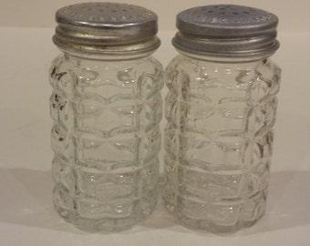 Vintage Anchor Hocking Salt and Pepper Shakers