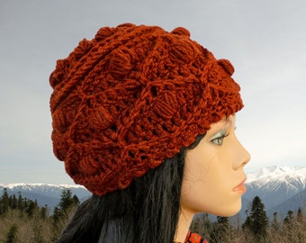 Chunky crochet hat pattern women hat pattern Crochet slouchy beanie pattern Slouchy hat patterns Chunky beanie pattern Crochet slouchy hat