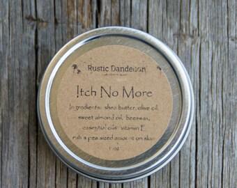Itch No More, Bug Bite Balm, No Itch Balm, Anti Itch Salve, Itch Cream, Itch be Gone