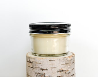 Cinnamon Chai Candle || Hand Poured || Organic Soy Candle // 4 oz. Jar