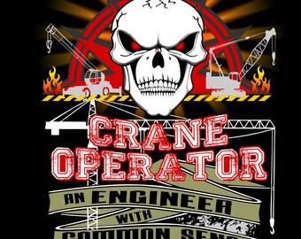 Crane Operator an Engineer with Common Sense