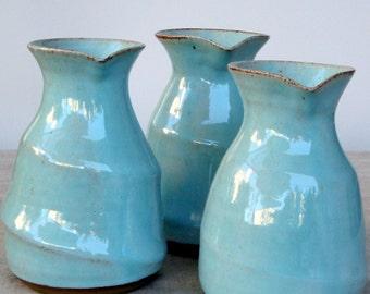 turquoise carafe, water carafe, ceramic carafe, ceramic wine carafe