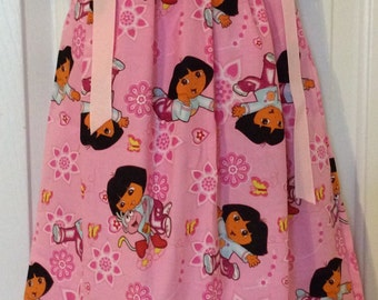 Dora The Explorer Pillowcase Dress Size 2T