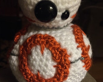 Homemade Crocheted BB-8 Made to order