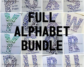 Pop up Alphabet Bundle - SVG