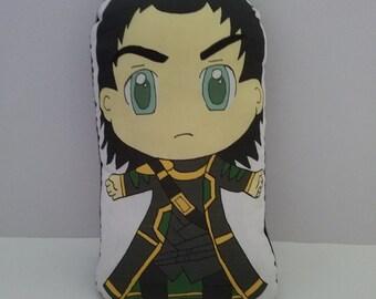 Avengers Loki Plush Pillow