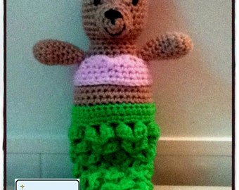 PDF Pattern for Crochet Amigurumi Mer-Bear Doll