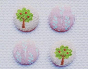Handmade fabric covered  button!