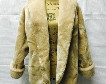 Vintage ollegro feux fur coat vintage feux fur coat