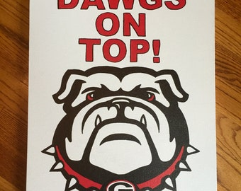 UGA Canvas: DAWGS On TOP!