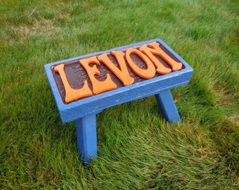 Kid's Wooden Step Stool