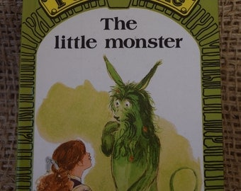 Puddle Lane. The Little Monster. Book 3. Reading Programme Stage 2. A Vintage Ladybird Book. First Edition