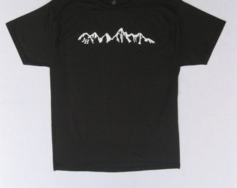 JACKSON HOLE WYOMING, Grand Teton National Park, Jackson Hole Mountain Resort, The Grand, T-shirt, Small-2xl, Hanes 50/50 Eco Friendly
