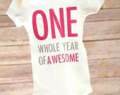 First Birthday Girl, One Year Old Girl, Girl First Birthday Outfit,  Cake Smash Outfit Girl, One Birthday Shirt, 1st Birthday Girl
