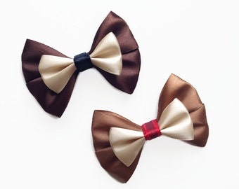 Chip & Dale Disney Character Inspired Hair Bows