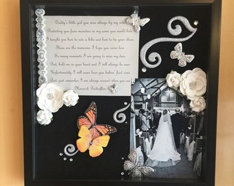 Remembrance Keepsake with Personalized Poem
