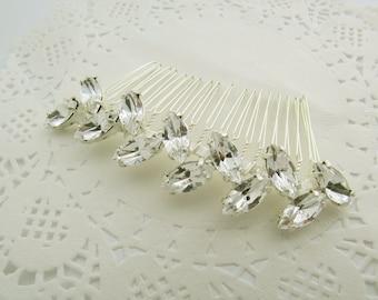 Crystal Comb, Wedding Hair Accessory, Bridal Comb, Wedding Comb, Crystal Rhinestones, Bridal Head Piece, Vintage wedding Headpiece,