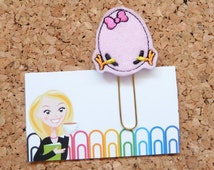 Chick Planner Clip   Spring Planner Accessory    Chick Hatching Bookmark   Paper Clip   Refrigerator Magnet   Cute Brooch Pin    607