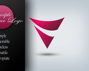 Custom Logo Design Package with Banner, Avatar & Business Card Small Business and Photography Branding Package