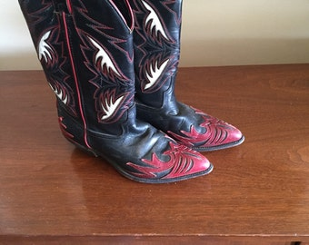Women's Code West Cowboy Boots size 6.5m
