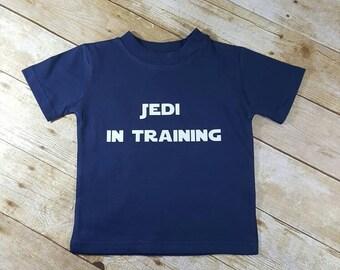 Jedi in Training Jedi Baby Star Wars Toddler Shirt Star Wars Baby Funny Hip