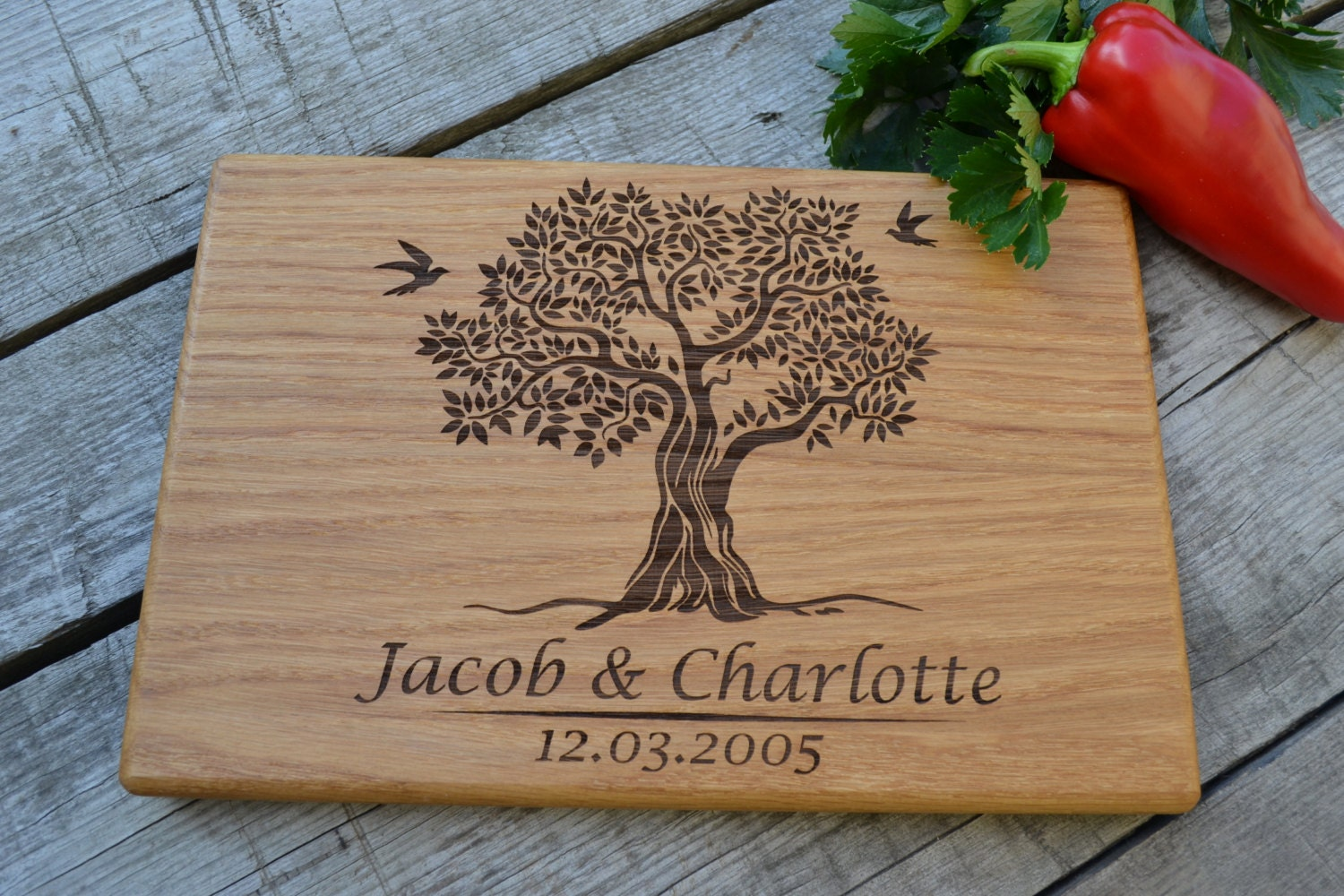 Wedding Gifts For Relatives : Housewarming Gift for couple Family tree Wedding Gift Wooden