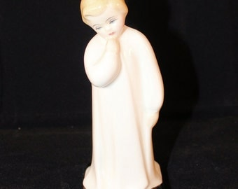"Royal Doulton Darling Figurine HN 1985 1945 Charles Vyse Child Study Series 5.25"" Tall"