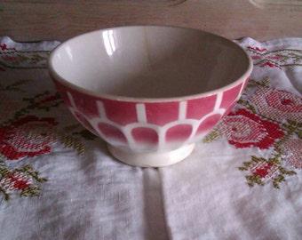 Café au Lait Bowl, French Vintage, French Breakfst Bowl, Cereal, Fruit, Petit Déjeuner