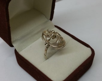 Art Nouveau ring silver ring silver 900 antique SR635