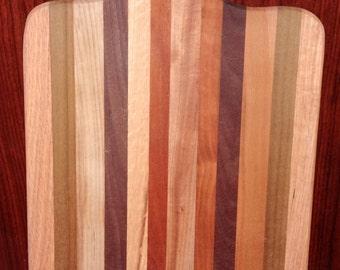 Homemade Hardwood Butcher block cutting board