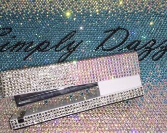 Full Swarovski Crystal bling Office Supply Stapler